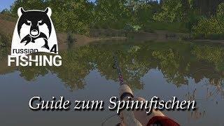 Russian Fishing 4 | Guide & Einstieg ins Spiel - #4 Spinning | Deutsch
