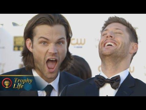 Jared Padalecki & Jensen Ackles talk 'Supernatural' Spoilers- Critics' Choice Movie Awards 2014