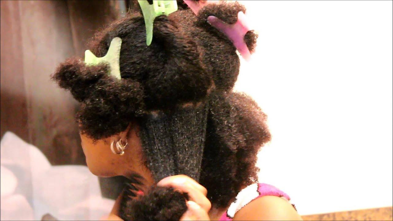 Not Detangling Natural Hair