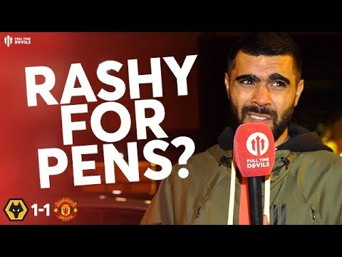 RASHFORD OR POGBA FOR PENALTIES? Wolves 1-1 Man Utd Match Review