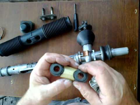 ремонт рулевой рейки рав 4 с электроусилителем