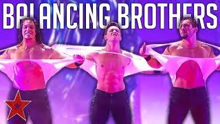 STRONGEST Acrobat Brothers SHOCK On America's Got Talent 2019 | Got Talent Global