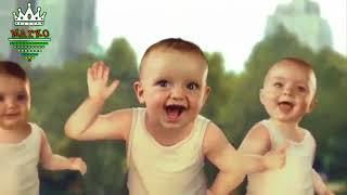 الاطفال يرقصون على اغنيه اديني رمضان
