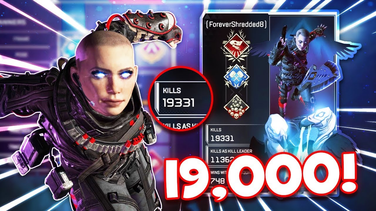 Download This is what 19,000 Wraith Kills looks like in Apex Legends