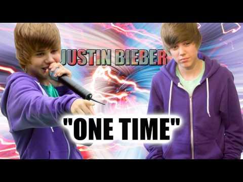 Justin Bieber - One Time - Karaoke