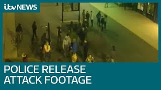 Police release 'appalling' footage of officers being attacked by teenagers | ITV News