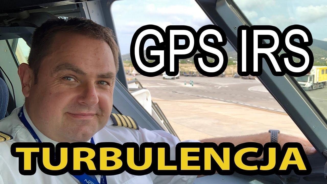 """Kapitan Darek o GPS i IRS w """"dużym"""" lotnictwie"""