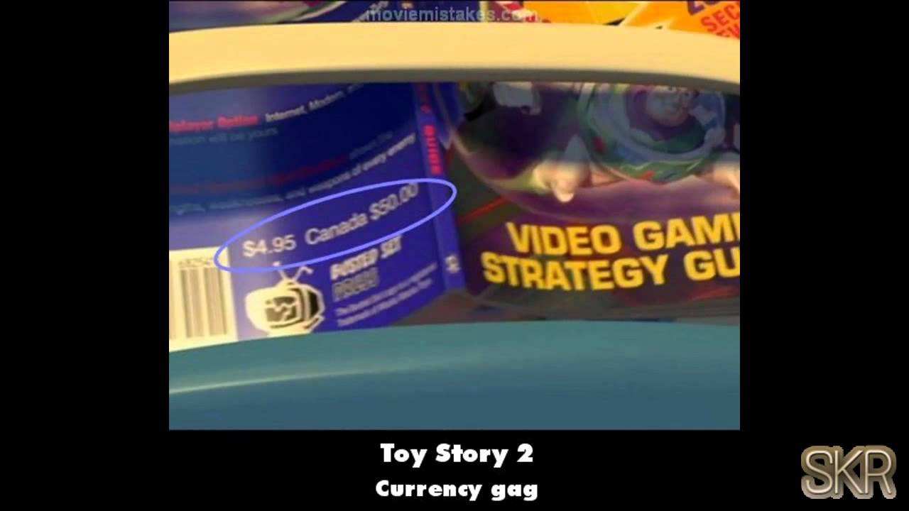 movie mistakes toy story 2 1999 youtube