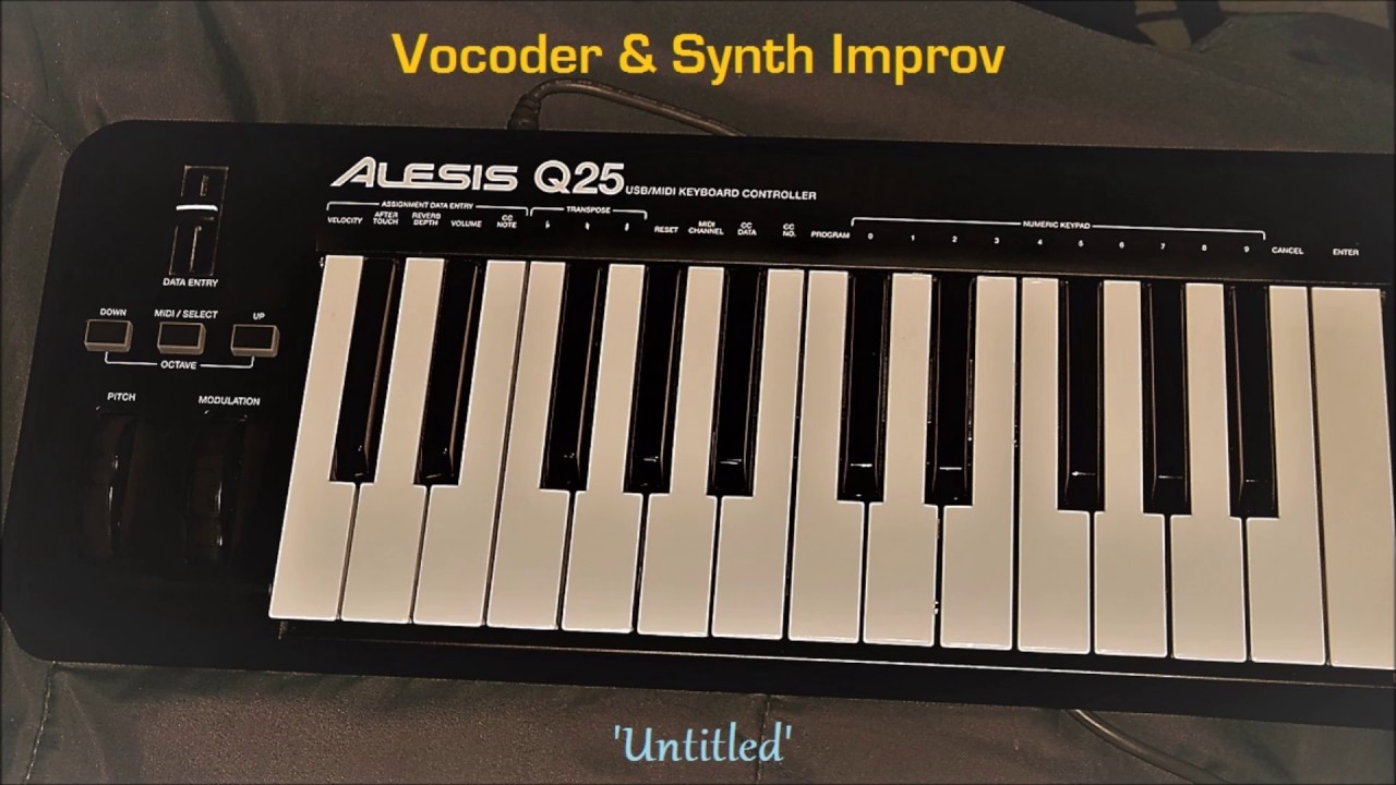Vocoder & Synth Improv (w/ OBXD & Tal Vocoder VST plugins)