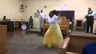 Greater is coming  (jekalyn carr) dance