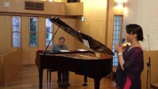 2017年4月1日(土)、杉並区久我山教会で開催した、竹中真さんのコンサー...