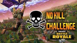 NO KILL CHALLENGE! - PC Fortnite 0 Kill Challenge Game!