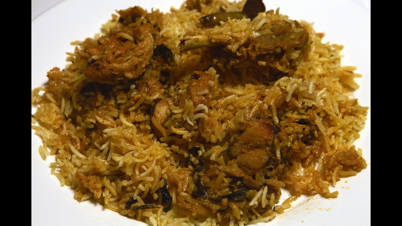 Chicken biryani at home in simple and easy steps doovi for Chicken biryani at home