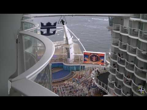 Oasis of the Seas Departing Port Everglades - a Royal Caribbean Fan cruise video.