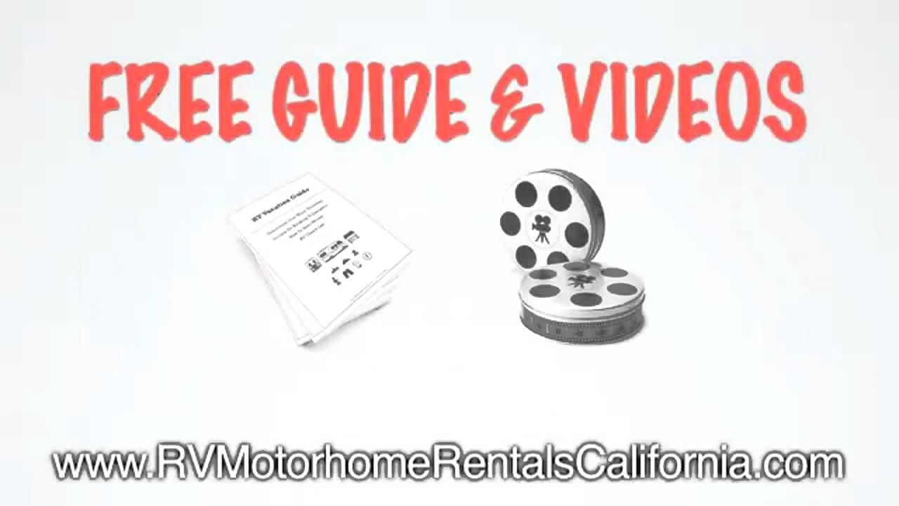 RV Rental Companies Orange County CA - Luxury RV Rentals - California  Campervan Hire