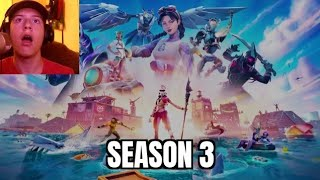 Fortnite CHAPTER 2 SEASON 3 Teaser Trailer Reaction