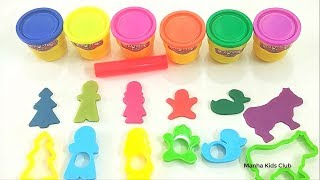 Play doh for kids toddlers with nursery rhymes for child baby