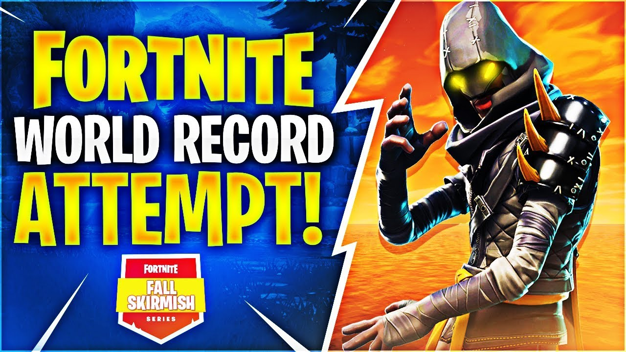 Fortnite World Record Attempt! #FallSkirmish Feat. TypicalGamer, Vivid, & Zayt
