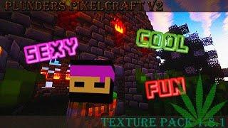 Minecraft - Plunder's PixelCraft v2 1.8.x Texture Pack - WiZARD HAX