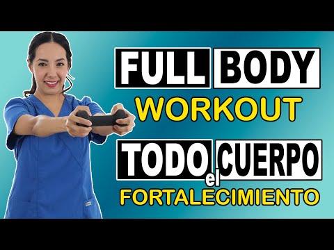 FULL BODY Workout para Adultos Mayores (fortalecimiento de todo el cuerpo) | 1 hora