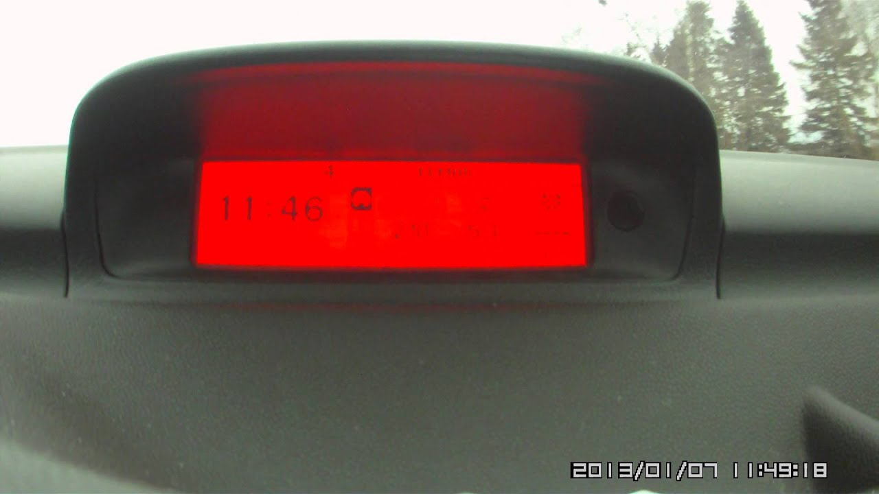 peugeot 307 2,0 hdi 100kw actual fuel consumption highway - youtube