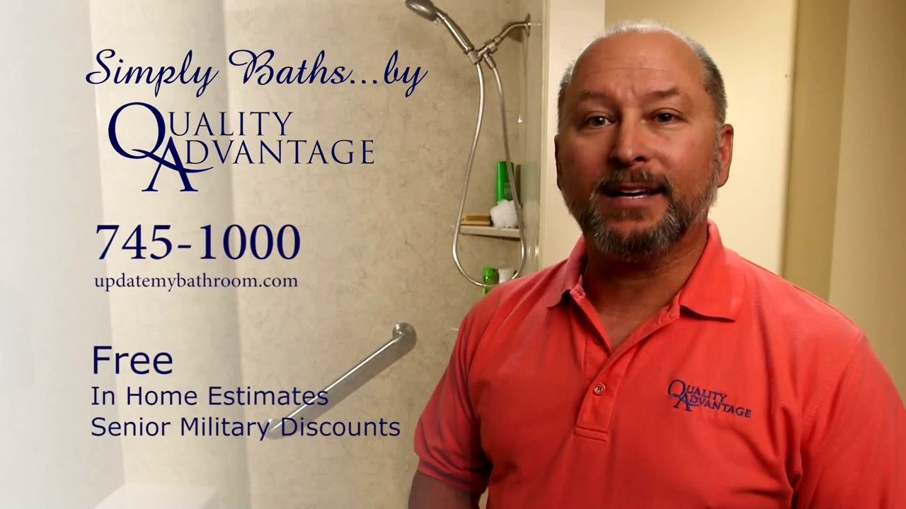 Quality Advantage Bathroom Remodeling YouTube - Quality advantage bathroom remodeling