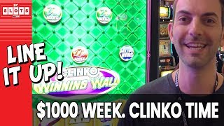 🎬 CLINKO to Kick It Off! 💰 $1000 @ Grand Sierra Reno ✪ BCSlots (S. 8 • Ep. 1)