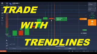 HOW TO TRADE ON TREND LINES PLUS SNR  PLUS REVERSAL