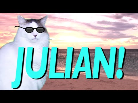 HAPPY BIRTHDAY JULIAN EPIC CAT Happy Birthday Song YouTube