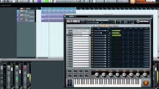 Cubase 6 - Creating a layered Pad in Halion Sonic SE