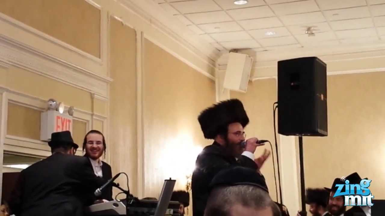 Isaac Honig Singing At His Daughter's Wedding