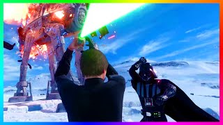 STAR WARS BATTLEFRONT GAMEPLAY! - Early Access Battlefront 2015 Beta Gameplay LIVE!