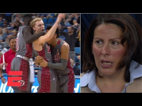 Utah Shocks UCLA With Comeback Win At Buzzer | College Basketball Highlights