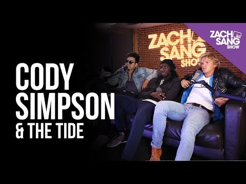Cody Simpson & The Tide talk Wave One, Miley Cyrus and Logan Paul