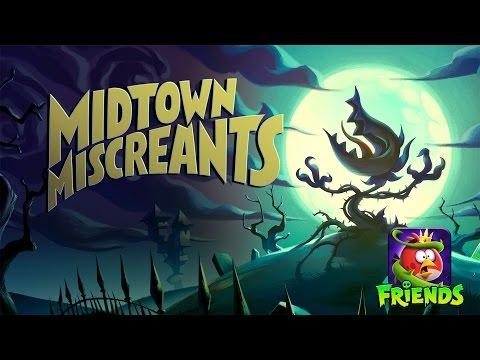 Angry Birds Friends - Halloween 2016: Midtown Miscreants