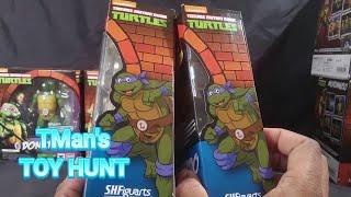 TMan's TOY HUNT #102: MISSION: DISCOUNT SH FIGUARTS TMNT