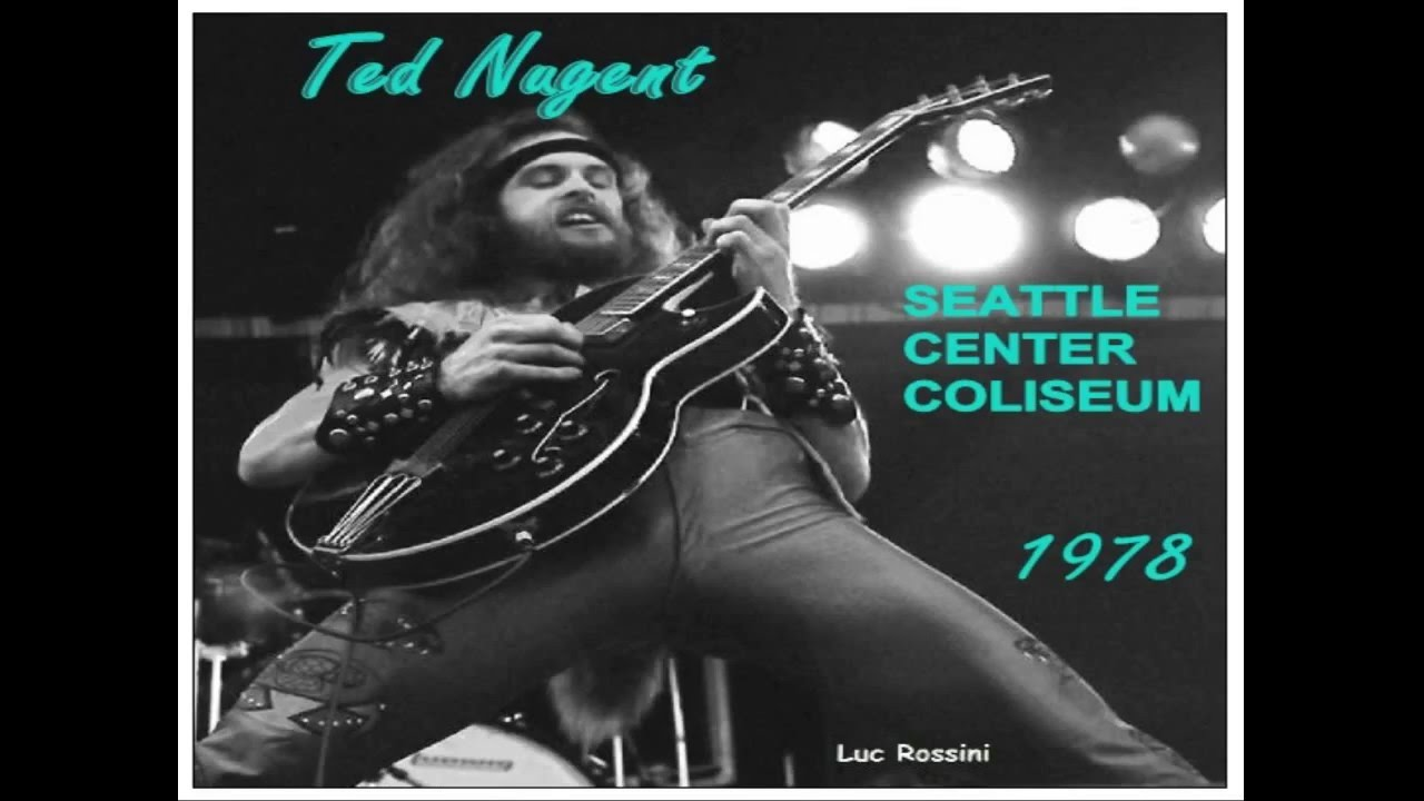 ted nugent seattle center coliseum august 29th 1978 weekend warriors tour pt 1 youtube. Black Bedroom Furniture Sets. Home Design Ideas