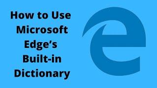 Microsoft Edge Dictionary screenshot 5
