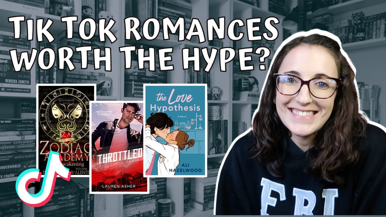 Download Reading Hyped Romances on Tik Tok   Are They Actually Good??