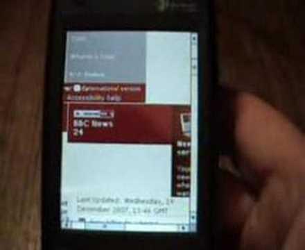 HTC Tytn II Kaiser - Browser Video & GPS
