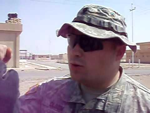 Us army in iraq ..oh you touch my tolala