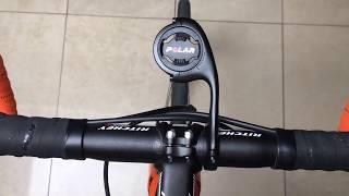 Polar M450 M460 V650 bike mounts | Standard mount and adjustable front mount