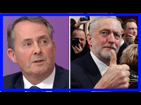 'It's nonsense!' Liam Fox DESTROYS Corbyn's Brexit plan with THIS simple fact