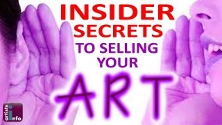 How To Sell Art online - Insider Secrets Revealed