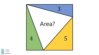 Solving The Inscribed Triangle In A Rectangle Puzzle