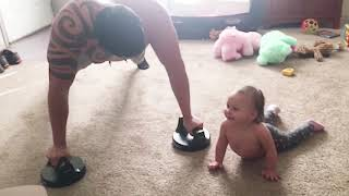 TOP 10 Try Not To Laugh: Funny Babies Doing Exercise - Funny Baby Video