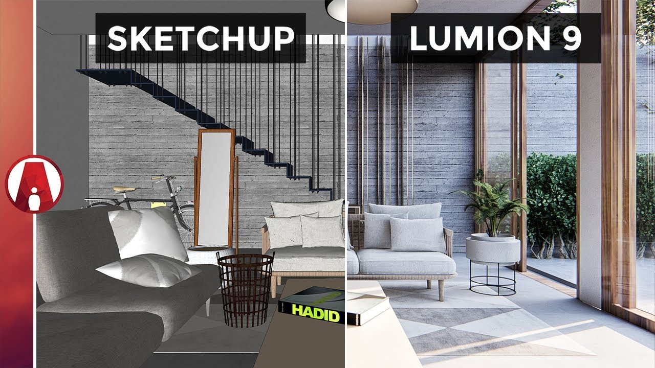 Lumion 9 interior rendering workflow youtube for Rendering gratis