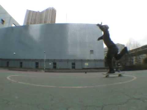 skate board tekitou video in tamachi