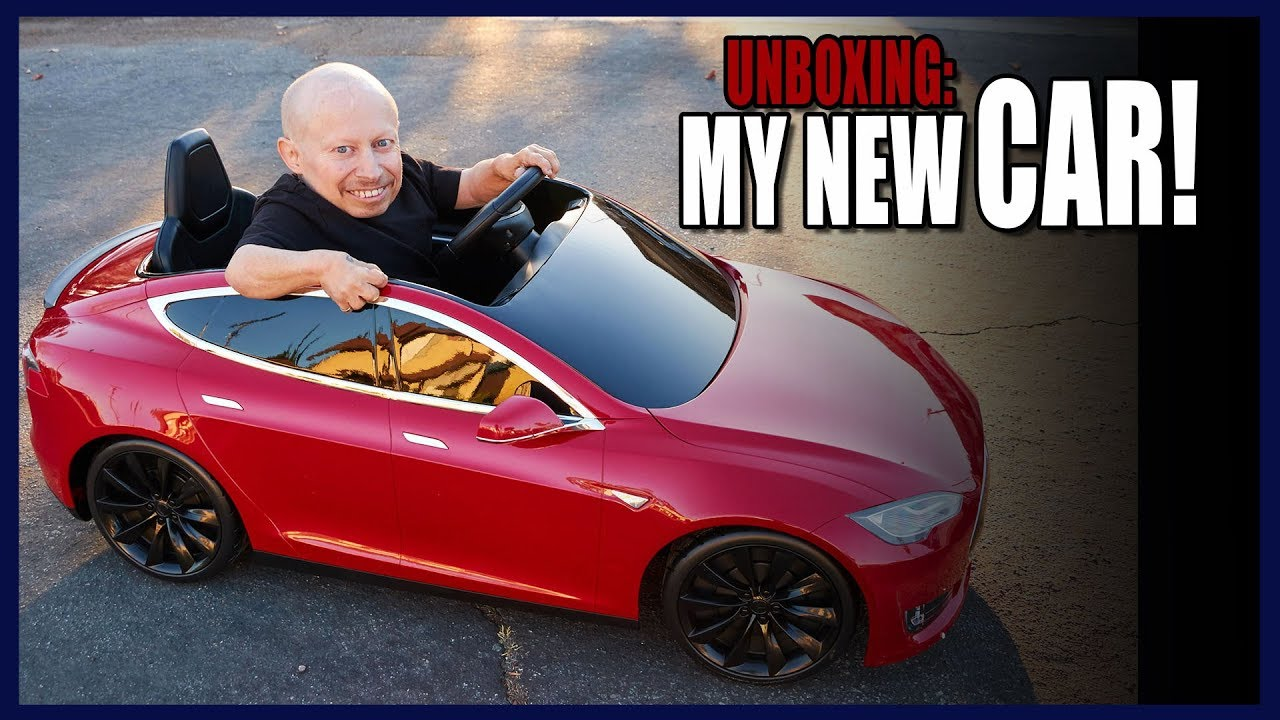 Verne Troyer Radio Flyer Tesla Model S For Kids