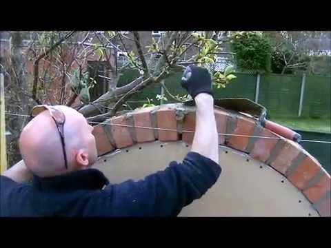 The Fine Art Of Brickwork Semi Circular Arch Youtube